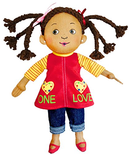 MerryMakers Love Plush Doll 9 Inch