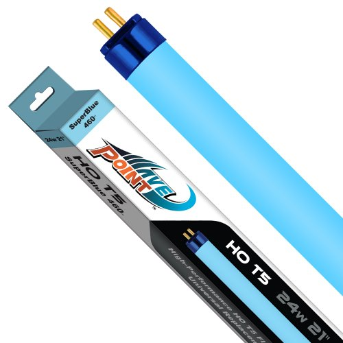 Wave-Point Super Blue Wave 24-Watt High Output T-5 Lamp ()