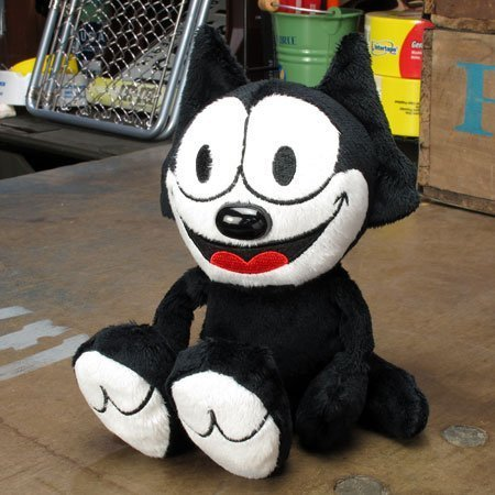 Mooneyes Felix the Cat (FELIX THE CAT) Bean (Felix The Cat Plush)