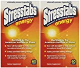 Stresstabs Energy Tablets 60 Ea(2 Pack)