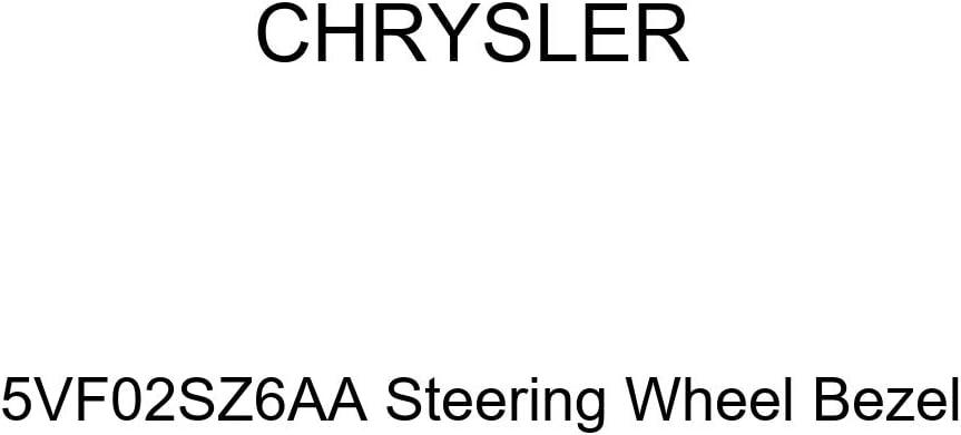 Genuine Chrysler 5VF02SZ6AA Steering Wheel Bezel