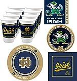 Westrick Notre Dame Fighting Irish Party Supplies - 80 Pieces