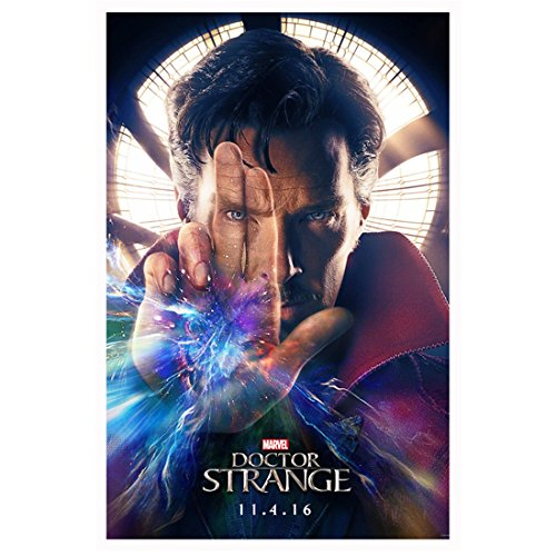 11 Lithograph (Benedict Cumberbatch as Doctor Strange Holding Fingers Up