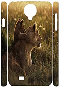Samsung Galaxy S4 I9500 Cases, Samsung Galaxy S4 Case, Lion and Little Lion
