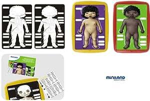 Miniland Educational 154246 - Juego didáctico Anatomía humana