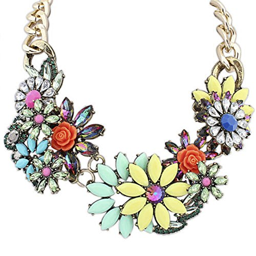 Eyourlife Delicate Luxurious Statement Necklace