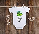 Funny Golf Baby Bodysuit For Golfing Future Golfer, Are You Staring At My Putt, Miniature