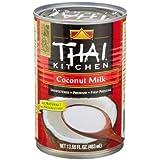 Thai Kitchen Gluten Free Unsweetened Coconut Milk, 13.66 fl oz ( Pack of 12 )