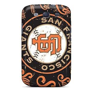 Unique Design Galaxy S3 Durable Tpu Case Cover San Francisco Giants