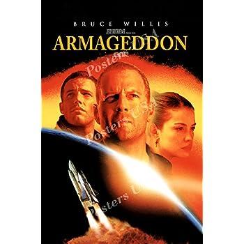 Amazon.com: Posters USA - Armageddon Movie Poster GLOSSY ...