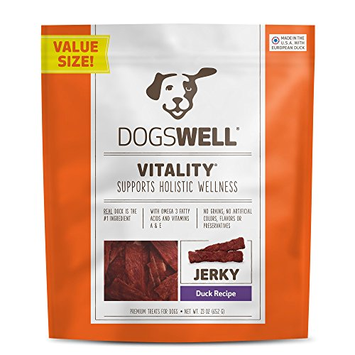 Vitality Duck - Dogswell VITALITY JERKY DUCK 23Z