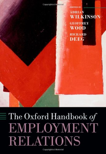 The Oxford Handbook of Employment