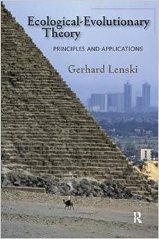 gerhard lenski society Gerhard emmanuel lenski (washington dc,  human society: an introduction to macrosociology 6ª edició de 1991 nova york: mcgraw-hill, 1970, p 511.