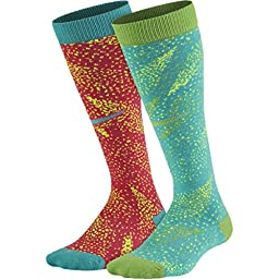Nike Graphic Cotton Knee-High Socks (2 Pair) 5Y-7Y