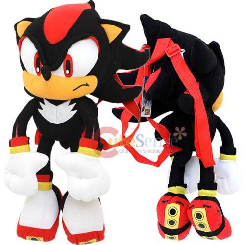 (Sonic The Hedgehog Shadow Plush Doll Bag Custom Backpack 21