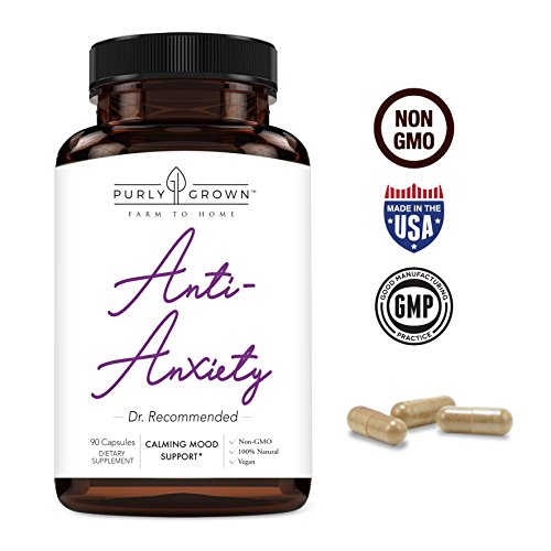 Take a Chill Pill: Anxiety and Stress Relief Herbal Supplement That Support a Healthy and Calm Day - Ashwagandha Calming Mood Support Supplement Promotes Calm and Improved Energy