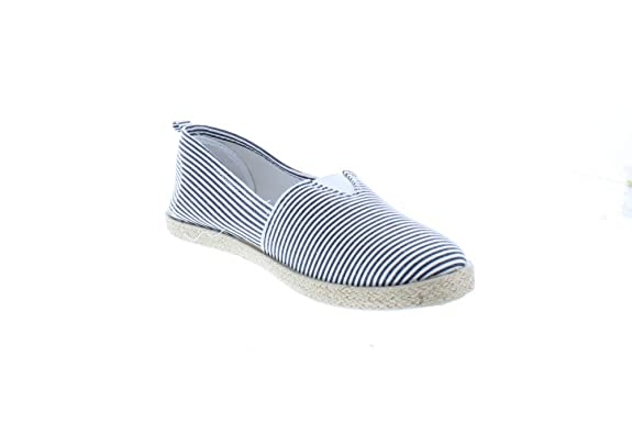 Amazon.com | Gold Toe Womens Rani Canvas Alpargatas Espadrille Flat Casual Summer Style Comfy Slip On Walking Shoe | Slippers