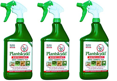 Tree World Deer Repellent: Plantskydd 32 oz Ready to Use (Pack of -