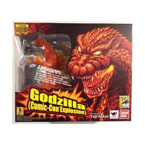 2012 Comic Con SDCC Excluisve Bandai S.H. MonsterArts Burning Godzilla Action Figure