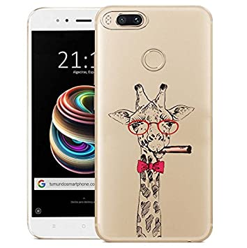 Xiaomi Mi 5X / Xiaomi Mi A1 Funda, ocketcase® TPU Carcasa Suave Silicona Flexible Gel Funda Resistente a los Arañazos Tapa Protectora Case Cover para ...
