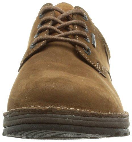 GTX para Sheppy cuero Zapatos Clarks 203511087 casual Sky de 1x488Ew