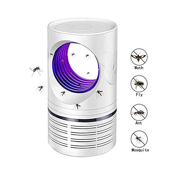 Bcamelys Lampada Antizanzare, Zanzariera Elettrica 5w Anti Zanzare USB con Luce UV Lampada Antizanzare Elettrico… 1 spesavip