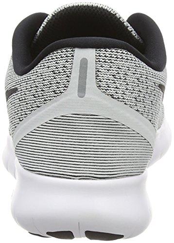 NIKE da Free Scarpe White Argento Run Pure Black Corsa Platinum Donna 4qTr4w6S