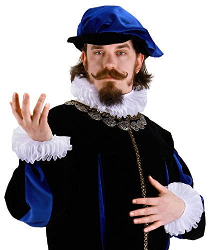 [Renaissance Collar & Cuff Set Costume Accessory] (Men Renaissance Costumes)