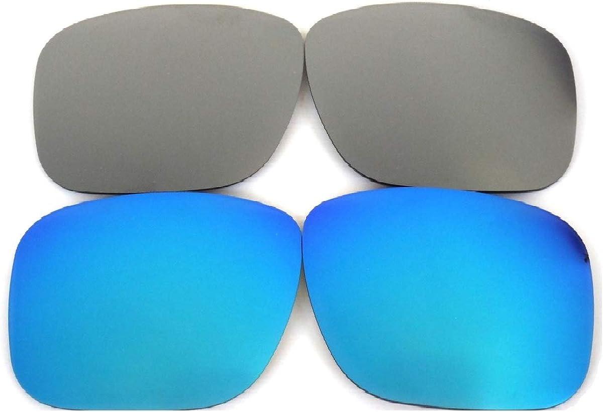 Galaxy Lentes de Repuesto para Oakley Holbrook Azul y Gris Color ...