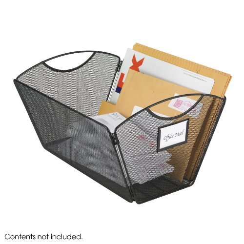Safco Products 2163BL Onyx Mesh Desktop Tub File, Legal Size (Qty. 1), Black Style: Legal, Model: 2163BL, Office/School Supply Store