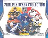 2018/19 Panini NHL Hockey MASSIVE Factory Sealed Sticker Box with 50 Packs & 250 Brand New MINT Glossy Stickers! Loaded with all your Favorite NHL Stars! The Exclusive Stickers of the NHL! WOWZZER!