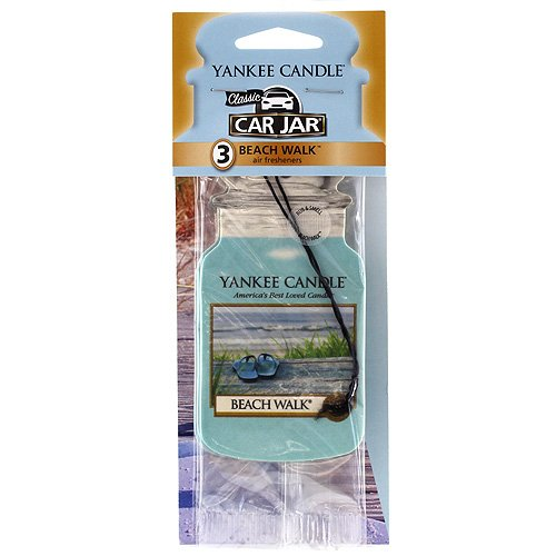 Yankee Candle® Beach Walk Car Jar Air Fresheners (3 pack) - Pack Car Jars