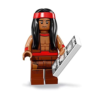 LEGO The Batman Movie Series 2 Collectible Minifigure - Apache Chief (71020): Toys & Games
