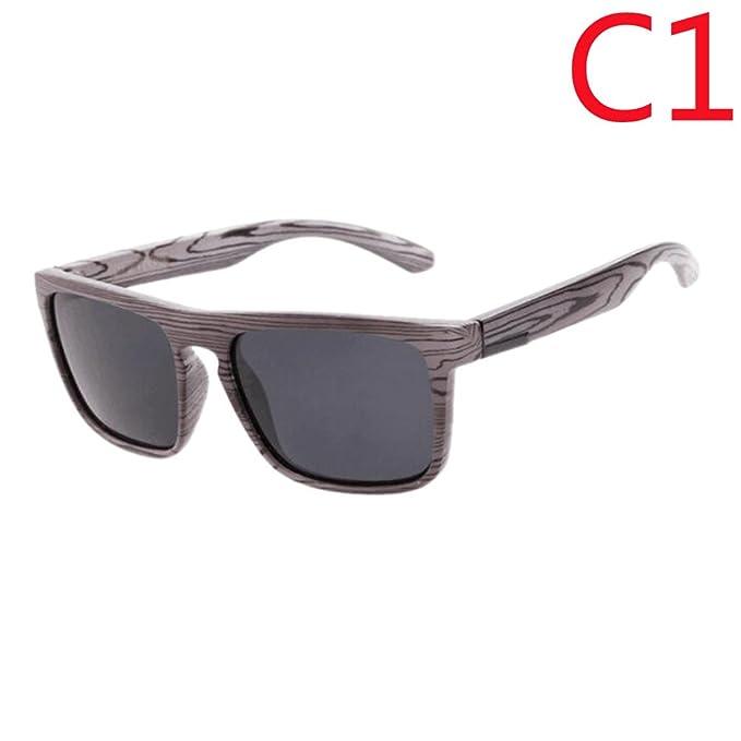 Hzjundasi Nuovo Colored Mirror Lenti Anti-UV occhiali di protezione Legnaen Stampare Frame Eyeglasses Occhiali da sole sZMLwaxE