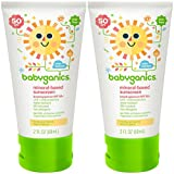 Babyganics Mineral Based Sunscreen - Spf 50+ - Fragrance Free - 2 Oz - 2 Pk