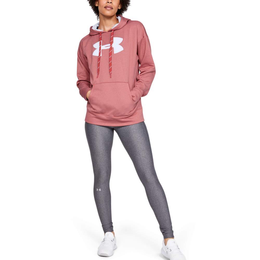 Parte Superior del Calentamiento Mujer Under Armour Synthetic Fleece Chenille Logo Po