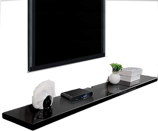 Sxfyzcy Meuble Tv Etagere Decodeur Pour Salle De Bain Chambre A Coucher Salon Cuisine Bureau Etagere Flottante Meuble Tv Mural Amazon Fr Cuisine Maison