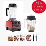 Vitamix 5200 Super Package with 64oz 32oz Containers, a...