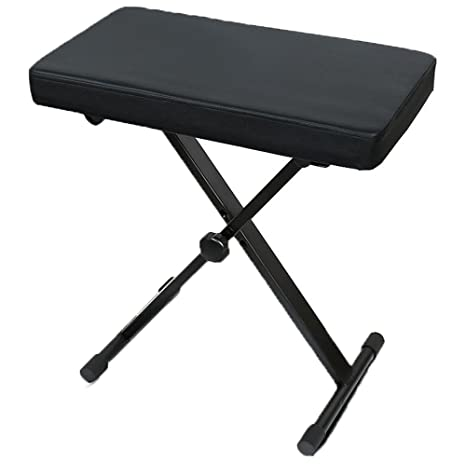 Swell Amazon Com Piano Stools Height Adjustable Folding X Frame Caraccident5 Cool Chair Designs And Ideas Caraccident5Info