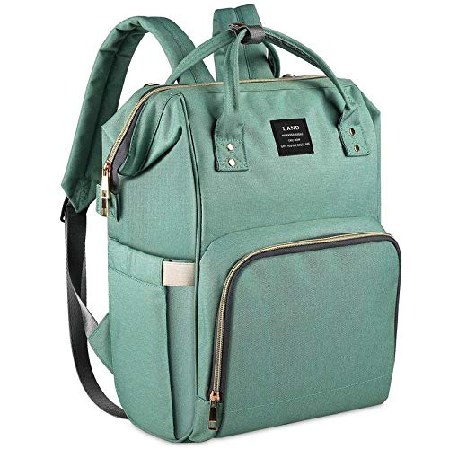 Handcuffs Diaper Bags Backpack for Mothers for Travel Multi Function Waterproof Bag