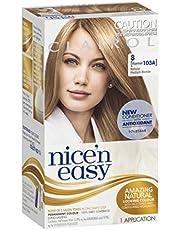 Clairol Nice 'N Easy, 8 Medium Blonde, 1 Application