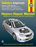 Subaru Impreza & WRX Automotive Repair Manual: 2002 to 2014 (Chilton)