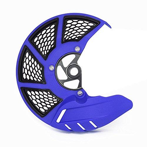 Motorcycle Blue Front Brake Disc Guard Case Cover Protector Fit For Yamaha YZ125 YZ250 YZ250F YZ450F YZ125X YZ250X WR250F WR450F
