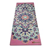 Cheap Aozora Reversible Eco-Friendly Non-slip Combo Yoga Mat, Pink