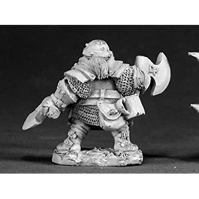 Hagar - Dwarven Hero MINT/New: Toys & Games