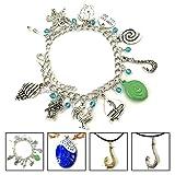 BlingSoul Maui Moana Charm Bracelet - Maui Hook Jewelry Moana Gift Merchandise for Women