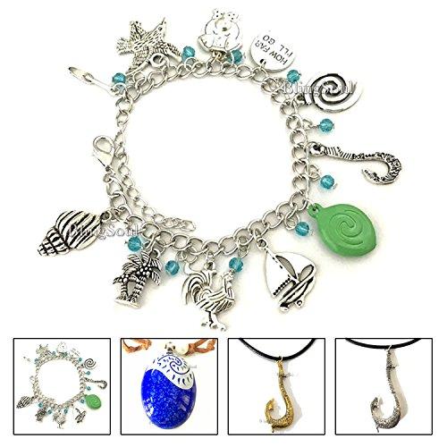 BlingSoul Maui Moana Charm Bracelet - Maui Hook Jewelry Moana Gift Merchandise for Women by BlingSoul (Image #5)'