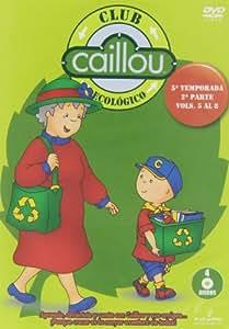 Caillou Ecológico - Temporada 5, Volúmenes 5-8 [DVD]