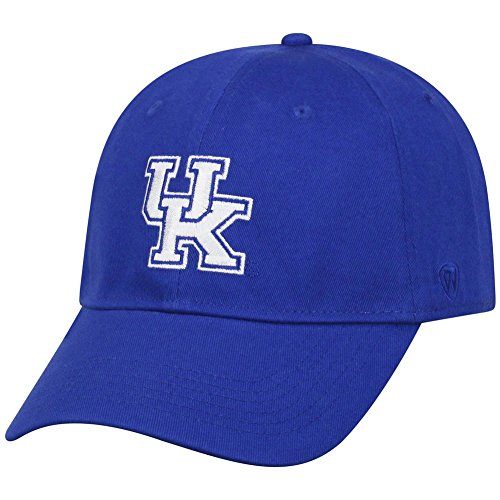 rsity of Kentucky Wildcats Fitted Hat Icon Blue (Kentucky Wildcats Fan)