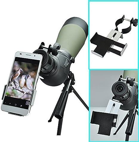 Solo Mark metal Smartphone adaptador y Mount Soporte de trípode ...